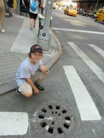 Wondering if the Teenage Mutant Ninja Turtles are under this sewer hole.