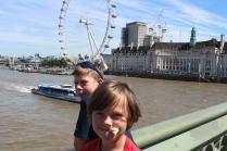 On Westminster Bridge.