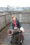 Cannons and history at Elizabeth Fort.