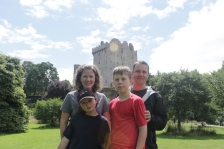 Beauty day at Blarney Castle.
