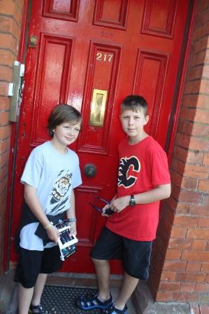 CS Lewis' grandpa's door....the inspiration for Aslan :)