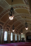 Belfast city hall ballroom....demolished by a bomb in WWII, this is the rebuilt version.