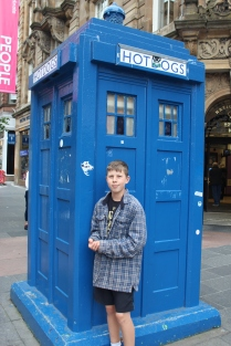Dr Who fan right here...in Glasgow.