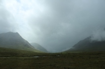 Driving through Glen Coe.