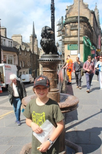 Greyfriars Bobby.... Jo was very intrigued by his story.