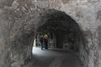 In the oldest part of the castle...where Robert the Bruce's son would have entered...