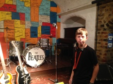 Unplanned stop at the Beatles Experience in Liverpool.