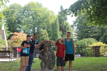 The gnome garden in Salzburg.