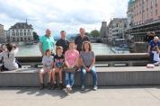 With some good friends in Zurich.