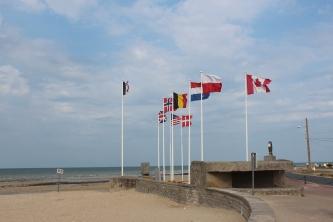 Canadian memorial at Juno Beach.