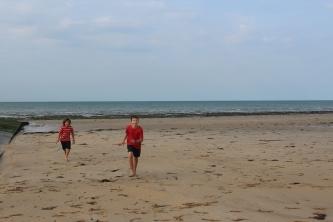 The boys love beaches!