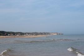 Omaha Beach; where the Americans landed.