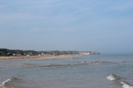 Omaha Beach; where the Americans landed.