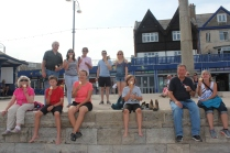 """Some """"99's"""" with flakies down in Swanage."""