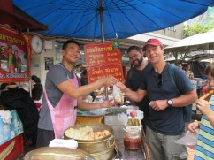 Street food...everywhere. And so so good! (and cheap!)