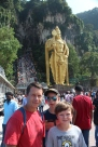 Batu caves...yes, we had to climb all those stairs behind them ;)