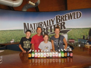 Bundaberg brewery....we LOVED every single flavour of soda they make!