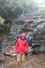 It rained on and off, but we still had some good bushwalks in the Blue Mountains.