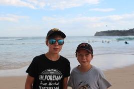 Bondi beach. Definitely a cool place to hang out!