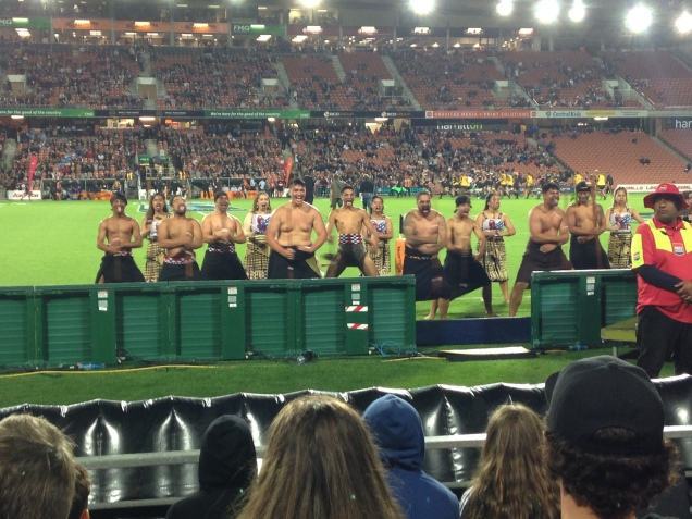 The Haka before the game
