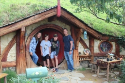 One of many hobbit holes