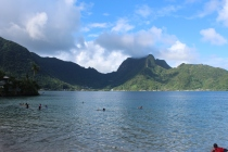 Snorkelling at America Samoas